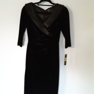 Dresses & Skirts - New Tahari ASL Women's partial collar sheath dress